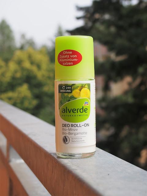 prirodny dezodorant alverde s mentolom a bergamotom