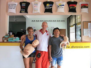 EFR Instructor course for August 2016 has been completed on Phuket, Thailand