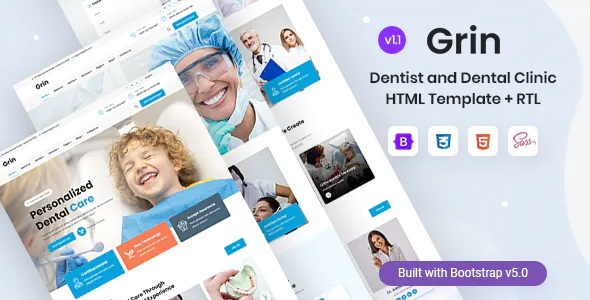 Best Dentist and Dental Clinic HTML Template