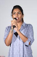 Poojita Super Cute Smile in Blue Top black Trousers at Darsakudu press meet ~ Celebrities Galleries 011.JPG
