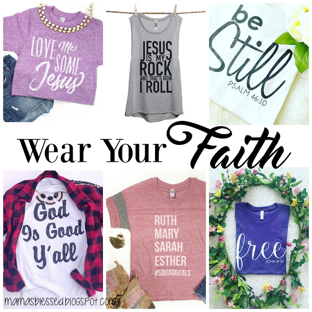 Wear Your Faith: Takeover Tuesday by Ashley from Mama's Blessed