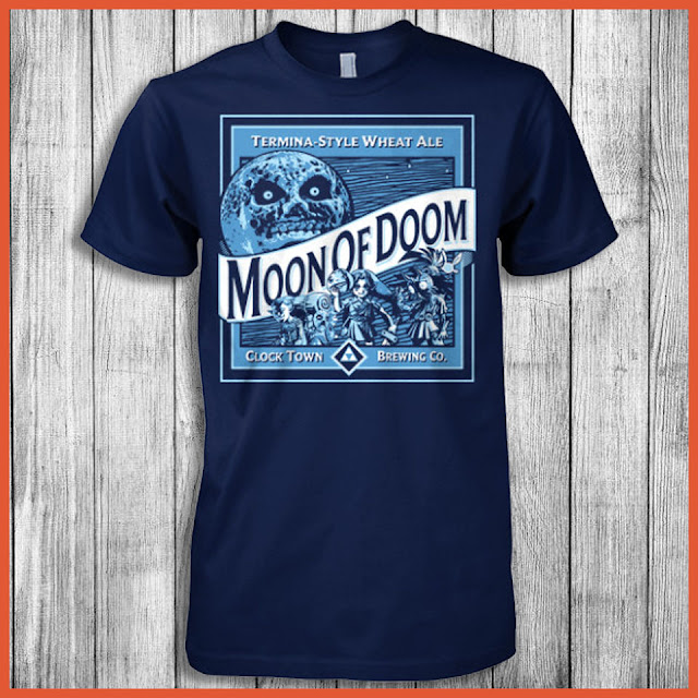 Termina-Style Wheat Ale Moon Of Doom Clock Town T-Shirt
