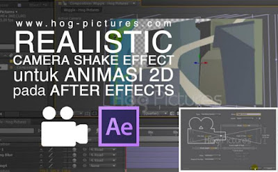 Realistic Camera Shake Effect untuk Animasi 2D pada After Effects