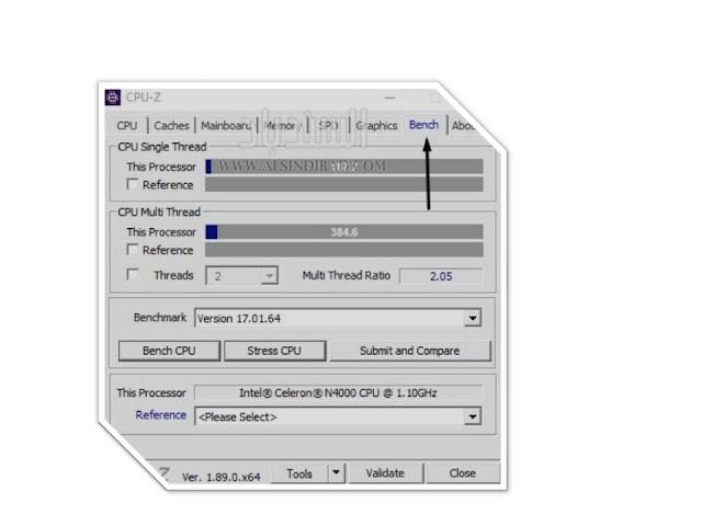 Bench: تتيح لك القيام بمعيار لوحدة المعالجة المركزية الخاصة بك ومن ثم المقارنة بوحدات المعالجة المركزية الأخرى.