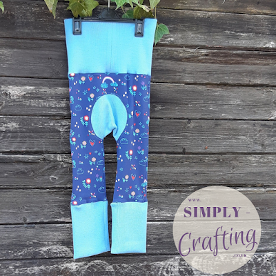 Max and Meena's Maxaloones Grow With Me Pants Sewing Project - Butterfly
