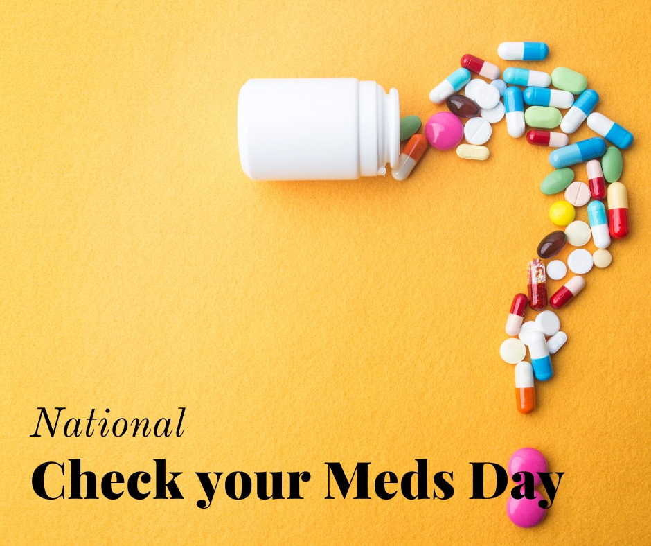 National Check Your Meds Day Wishes pics free download