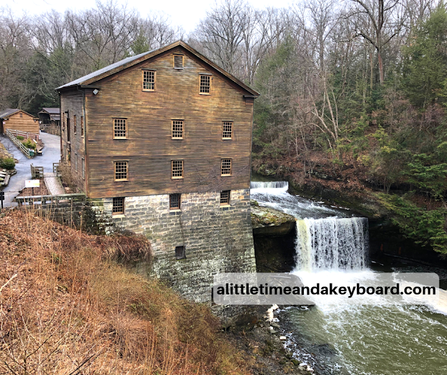 Lanterman's Mill in Youngstown, Ohio was originally constructed in 1845-1846.