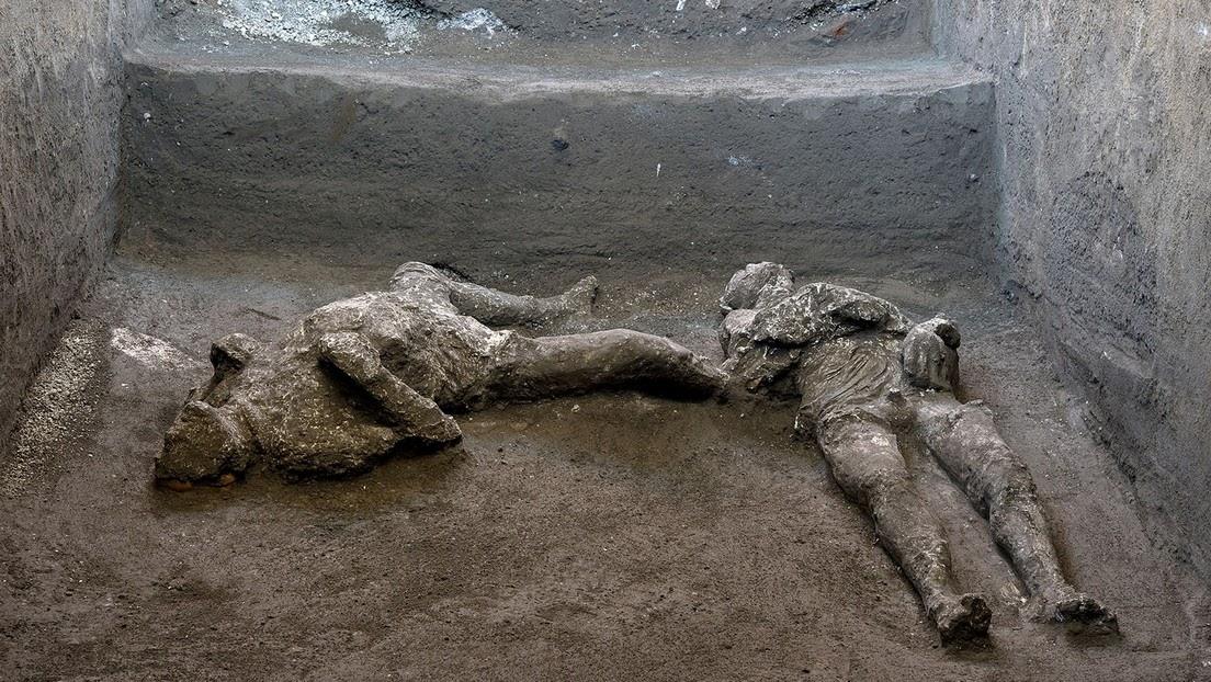 Hallan en Pompeya los restos perfectamente conservados de dos hombres que murieron en la erupción del Vesubio, hace casi 2000 años