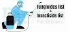 Mixture fungicides list /bactericide कवकनाशी सूची