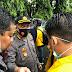 Aksi Simpatik Polisi Dalam Pengamanan Demonstrasi di Banjarmasin