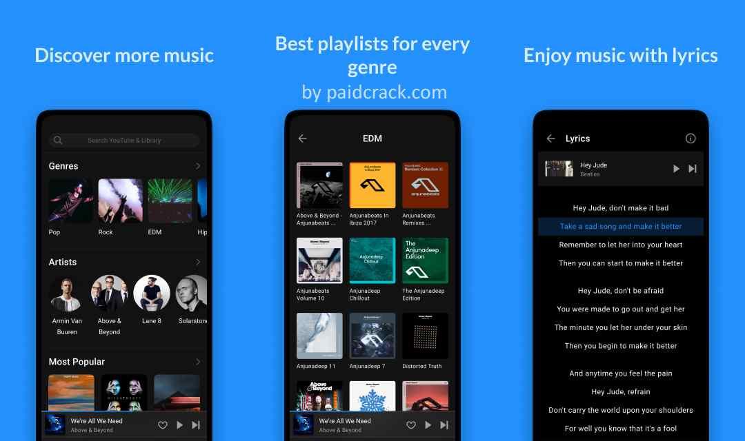 Lark Player - for Music & Youtube Pro Mod Apk 4.13.3