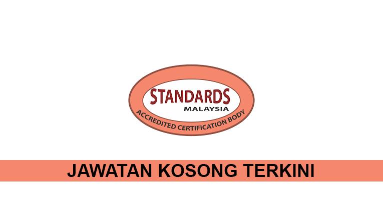 Kekosongan Terkini di Jabatan Standards Malaysia