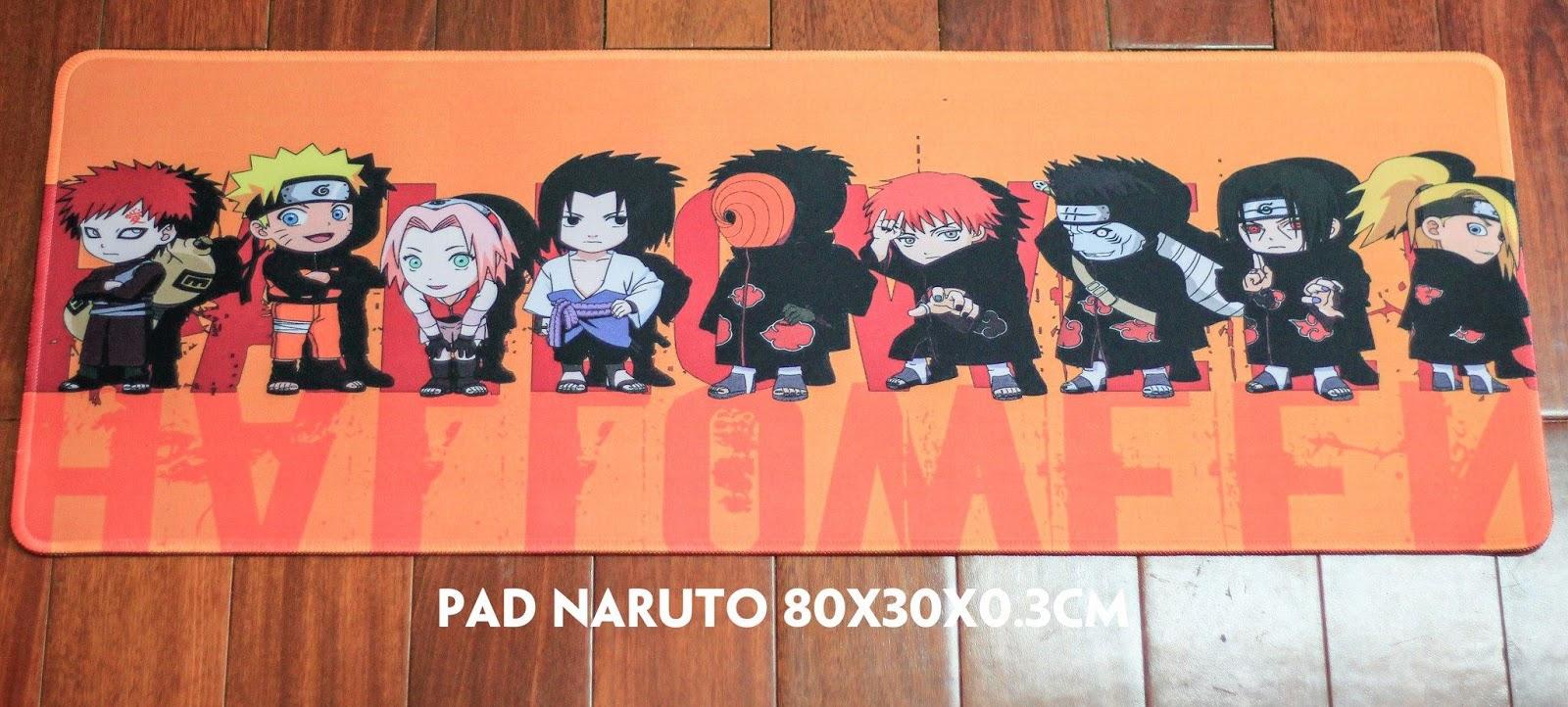 Gamming Mousepad: One piece, CS, CF, LMHT, Doraemon, Naruto, Dota2!!! - 14