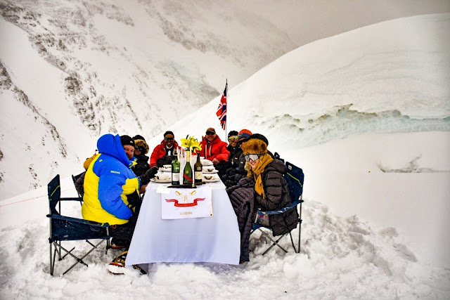 Images of Dinner Party at Mount Everest