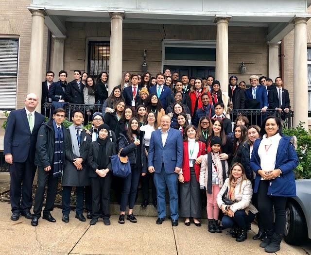 Jóvenes dominicanos participaron en el Modelo de la ONU