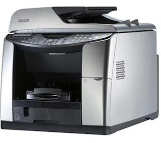 which uses sticky inks that dried upwards really chop-chop when they struck the spider web page Ricoh Aficio GX 3050SFN Drivers Download