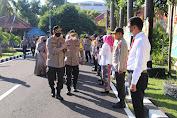 Tiba Di MAPOLDA  NTB Irjen Pol Muhammad Iqbal DI Terina Dengan  Jajar  Kehormatan