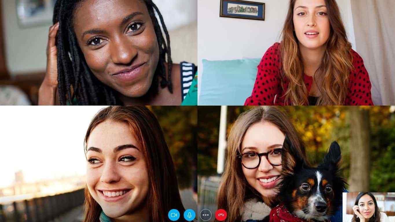 Panggilan video Skype