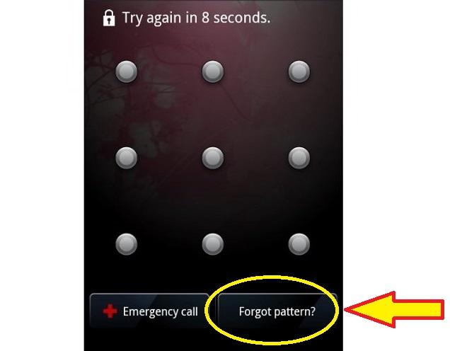 Cara Mengatasi HP Android Yang Lupa Kata Sandi, Lupa Pola dan Lupa PIN tomsheru.com
