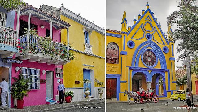 Bairro de San Diego, Cartagena, Colômbia