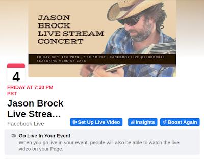 Jason Brock Facebook Live