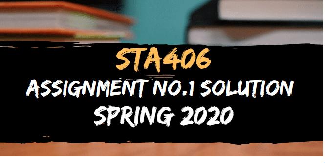 STA406
