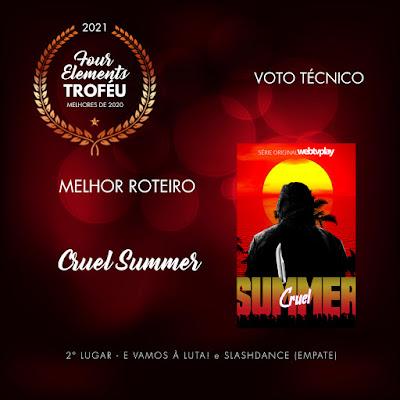 Cruel Summer recebe prêmio de Melhor Roteiro