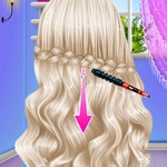 لعبة قص شعر