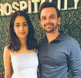 Mugdha Chaphekar with her husband