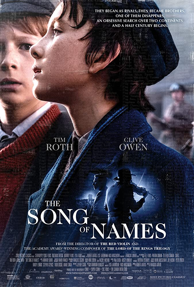Nonton Download Film The Song of Names (2019) Full Movie Sub Indo