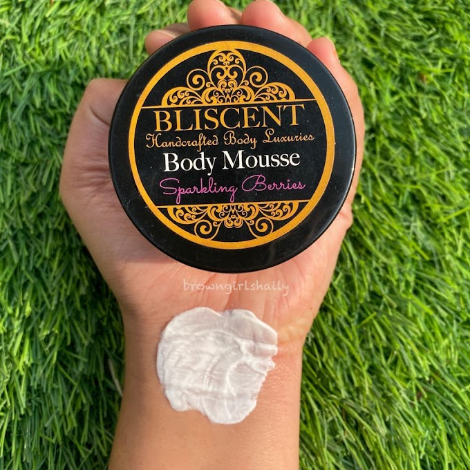 Bliscent Body Mousse Review