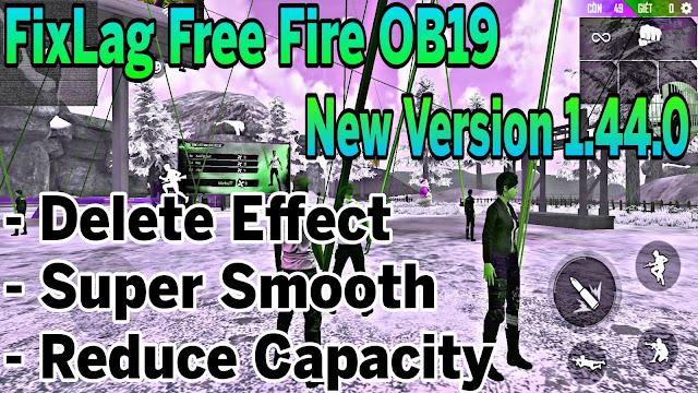 Fix Lag Free Fire OB19 1.44.0 Giảm Lag Bằng File Data Mới Nhất Xóa Full Hiệu Ứng, Super Smooth | HQT LAG FREE FIRE