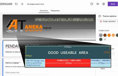 Cara Mengganti Header Google Form Unik Buatan Sendiri