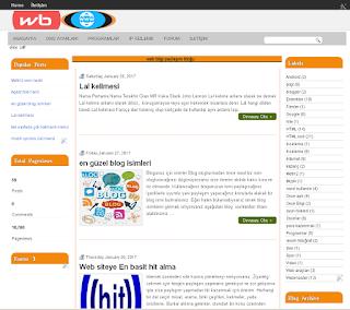 ücretsiz blogger teması