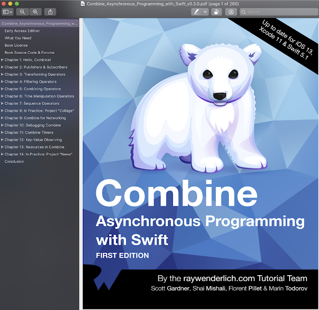 Combine Asynchronous Programming with Swift