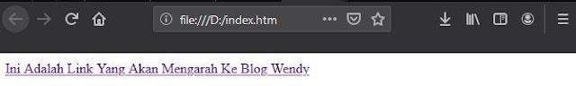 Membuat Link Di HTML