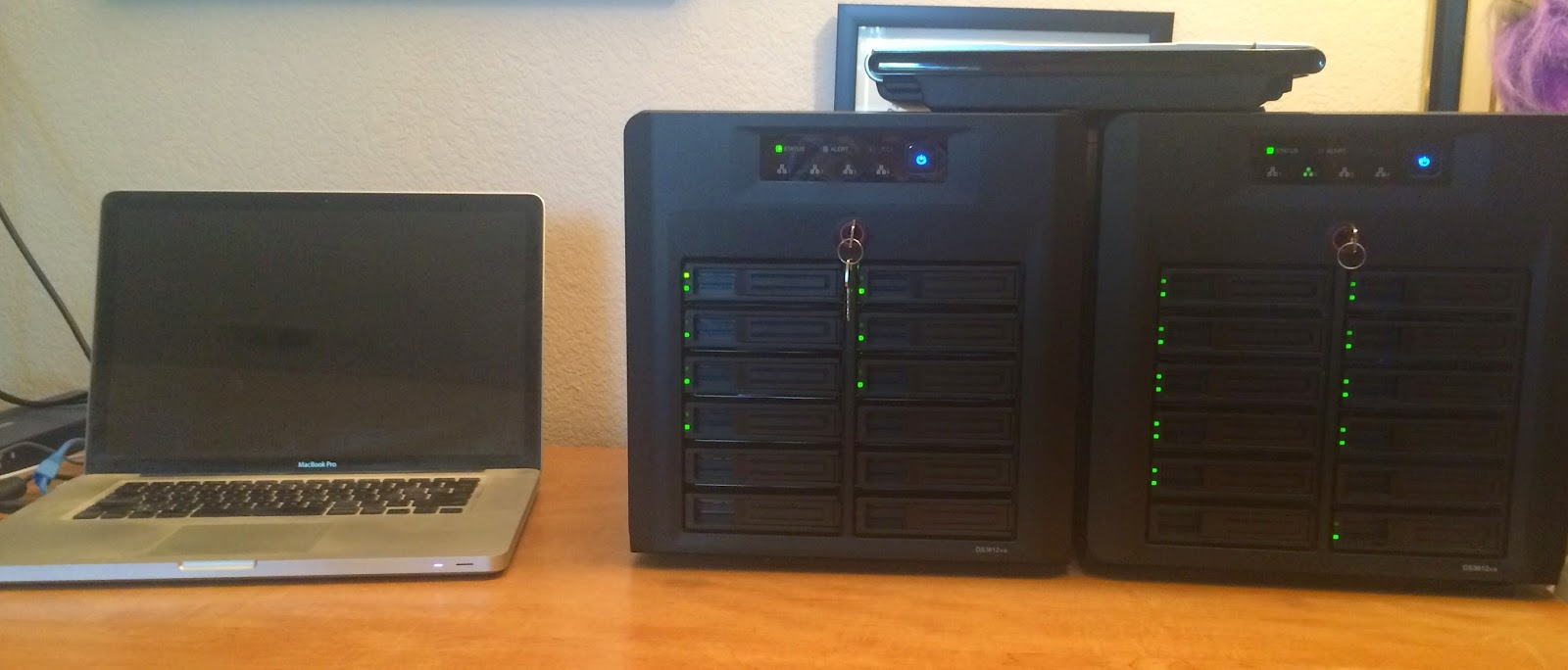 Apple Zone: Synology DS3612xs