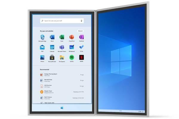 مايكروسوفت تكشف عن معلومات جديدة حول Windows 10X