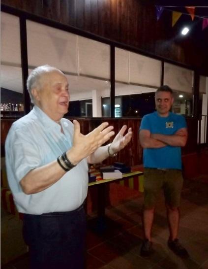 Homenaje a Jaume Anguera en 2019