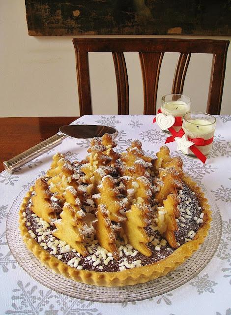Crostata di Natale al Cioccolato