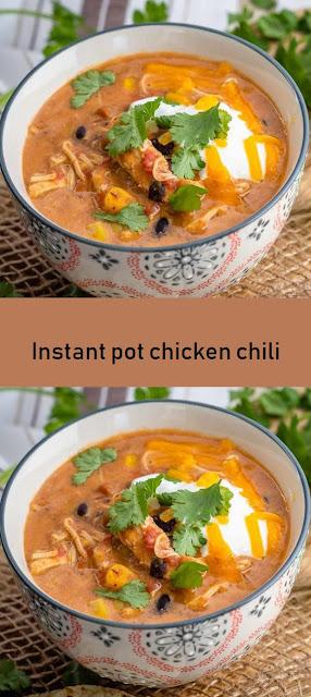 Instant pot chicken chili