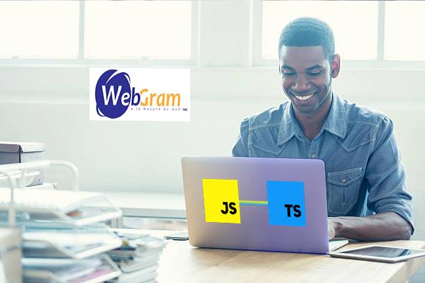 WEBGRAM, entreprise informatique basée à Dakar-Sénégal, leader en Afrique, ingénierie logicielle, développement de logiciels, systèmes informatiques, systèmes d'informations, développement d'applications web et mobile, Différence entre la programmation TYPESCRIPT et JAVASCRIPT