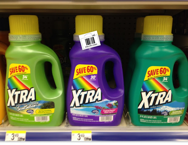 With Coupon Chance Grab Xtra Laundry Detergent - 88 1