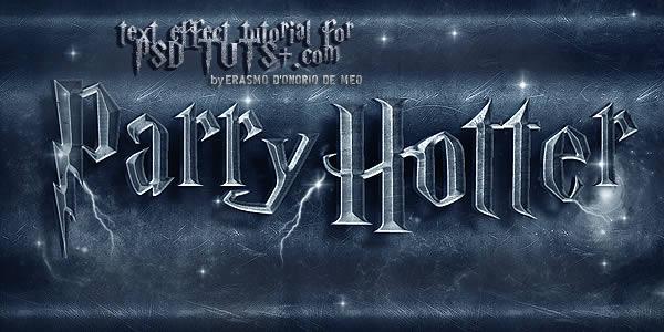 Membuat Efek Teks Harry Potter Dengan Photoshop