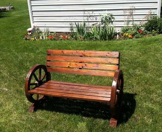 Hot Flash'n Craft'n: Bench to beauty