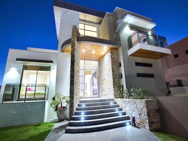 Hogares frescos fachadas de casas especial de hogares for Modelos de casas minimalistas modernas