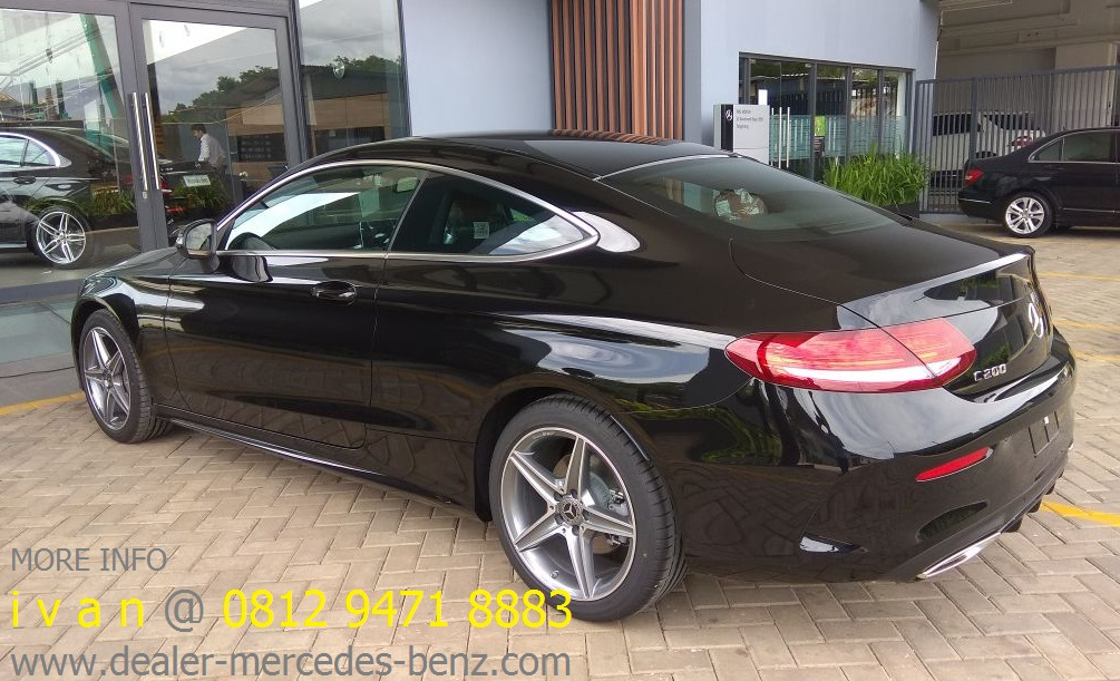 Mercedes Benz C Class Coupe Indonesia 2017 Info Sales