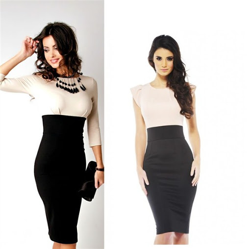 High waisted black pencil skirt outfit – Modern trending things ...