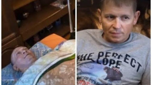 Мужчина не бросил друга, когда того парализовало. Он ухаживает за ним уже больше 15 лет!