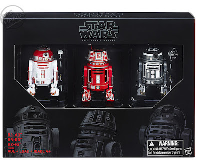 San Diego Comic-Con 2016 Toys R Us Exclusive Star Wars The Black Series Astromech Droid Action Figure 3-Pack from Hasbro